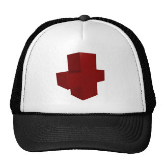 croix rouge trucker hat