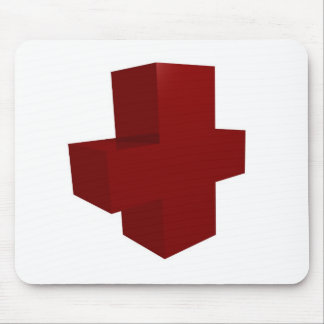 croix rouge mouse pad