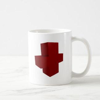 croix rouge mug
