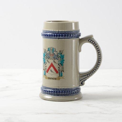 Croker Coat of Arms - Family Crest Mug