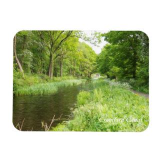 Cromford Canal, Derbyshire, England Rectangular Photo Magnet