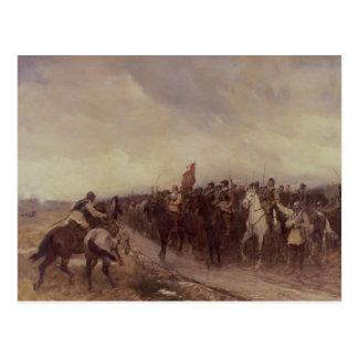 Cromwell at Dunbar, 1650 Postcard
