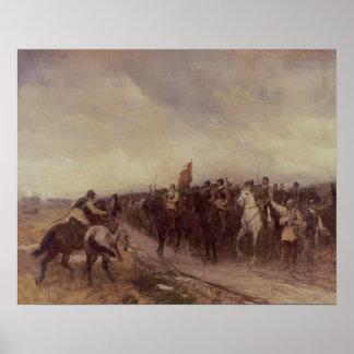 Cromwell at Dunbar, 1650 Poster