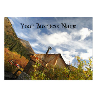 Crooked Cabin Business Card Templates
