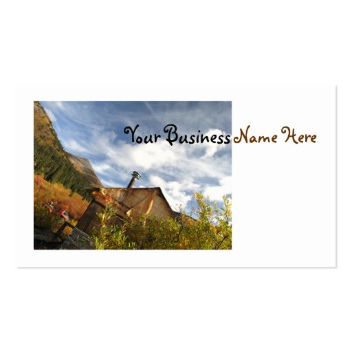 Crooked Cabin Business Cards