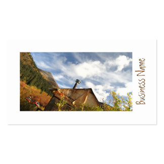 Crooked Cabin Business Card Template