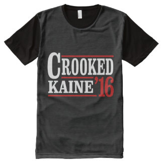 Crooked Clinton Kaine 2016 - All-Over Print T-Shirt