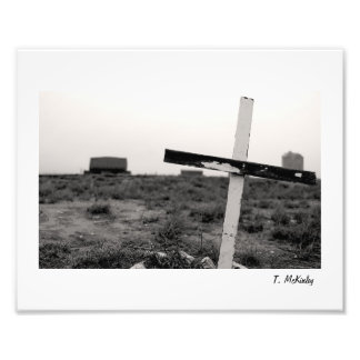 Crooked Cross Photo Print