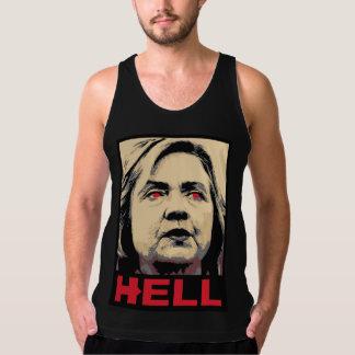 Crooked Hillary Clinton Hell – Anti-Hillary Tank