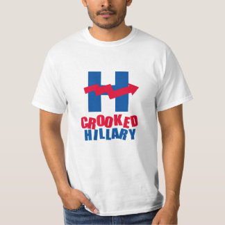 CROOKED HILLARY ICON - T-Shirt