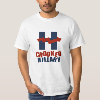 CROOKED HILLARY - T-Shirt