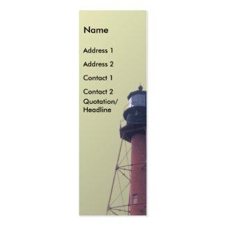Crooker River Light Station Business Card