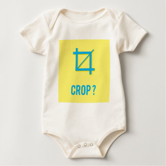 CROP? BABY BODYSUIT