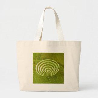 Crop Circle Cissbury Rings 1995 Canvas Bags