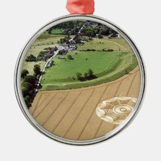 Crop Circle Dreamcatcher Avebury 1994 Metal Ornament