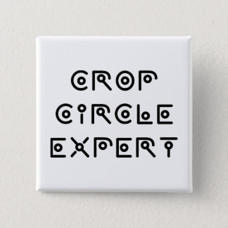 Crop Circle Expert 15 Cm Square Badge
