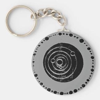 Crop Circle Keychain