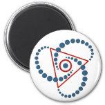crop circle VI 6 Cm Round Magnet