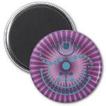 crop circle VIII 6 Cm Round Magnet