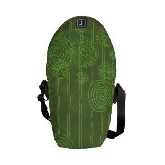Crop Circles Messenger Bags