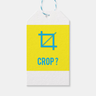 CROP? GIFT TAGS