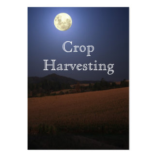 Crop Harvesting Business Card