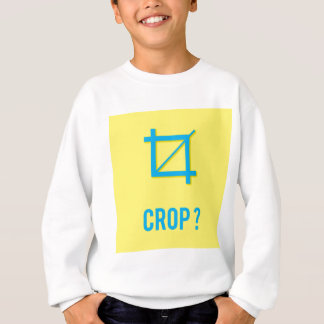 CROP? SWEATSHIRT