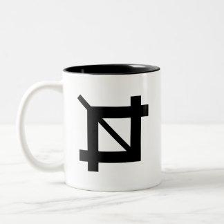 Crop Tool Pictogram Mug