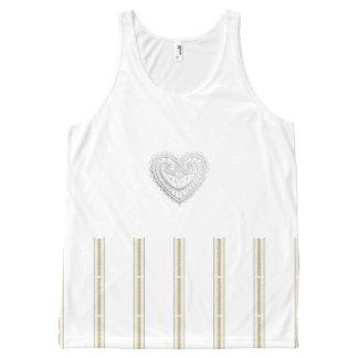 Crop_Top_Tank (c)Crochet_-Heart-Stripes All-Over Print Singlet