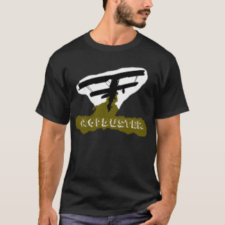 Cropduster in Black T-Shirt