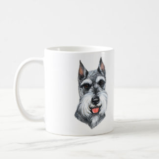 Cropped Ear Schnauzer coffee mug