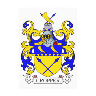 Cropper Coat of Arms II Canvas Prints