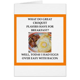 croquet card