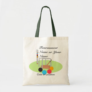 Croquet Club Player Team Tote Bag