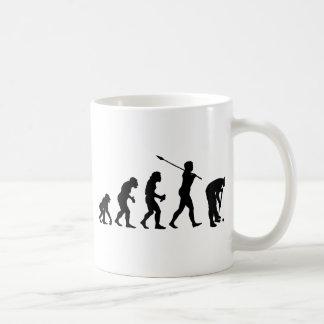 Croquet Player Basic White Mug