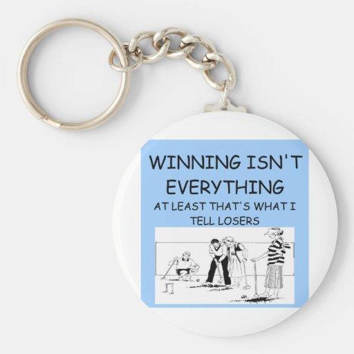 CROQUET winner Keychain
