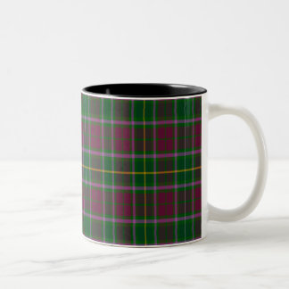 Crosbie Scottish Tartan Two-Tone Coffee Mug