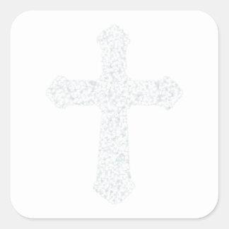 cross15 square sticker