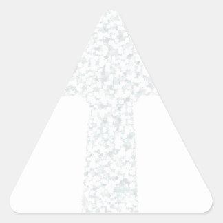 cross15 triangle sticker