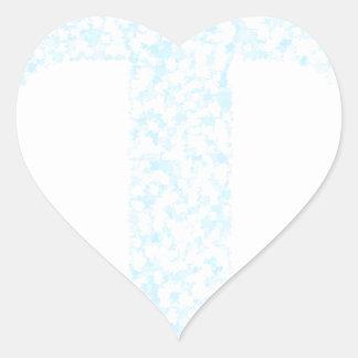 cross21 heart sticker