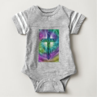 Cross #2 baby bodysuit