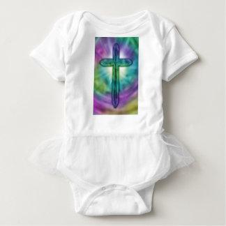 Cross #2 baby bodysuit