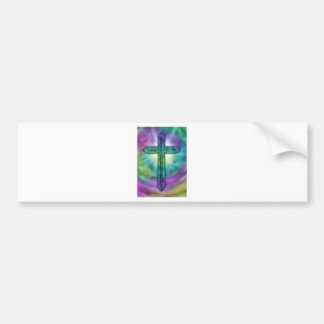 Cross #2 bumper sticker