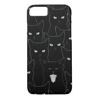 Cross a Black Cat's Path iPhone 7 Case