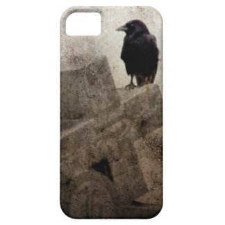 Cross And A Crow Barely There iPhone 5 Case
