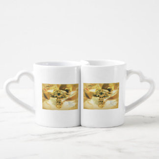 Cross and Bible Quote - Christianity Couple Mugs