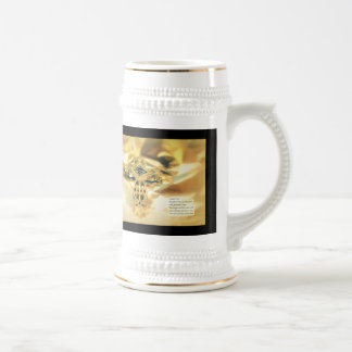 Cross and Bible Quote - Christianity Mugs