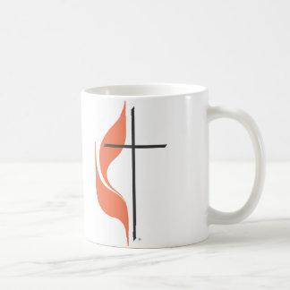 Cross and flame, ClearwaterUnited MethodistChurch Coffee Mug