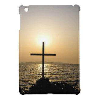 Cross and sea cover for the iPad mini