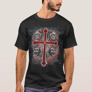 cross and skulls 1 T-Shirt
